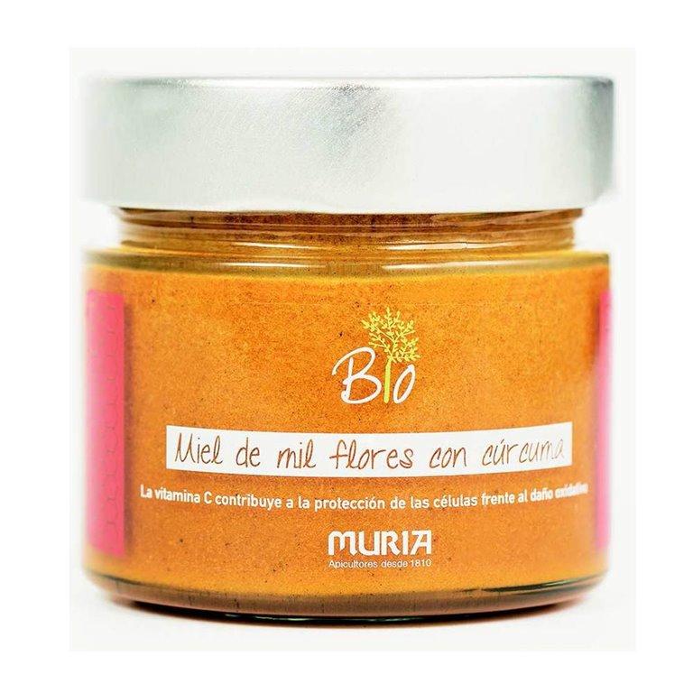 Miel de Mil Flores con Cúrcuma Bio 250g