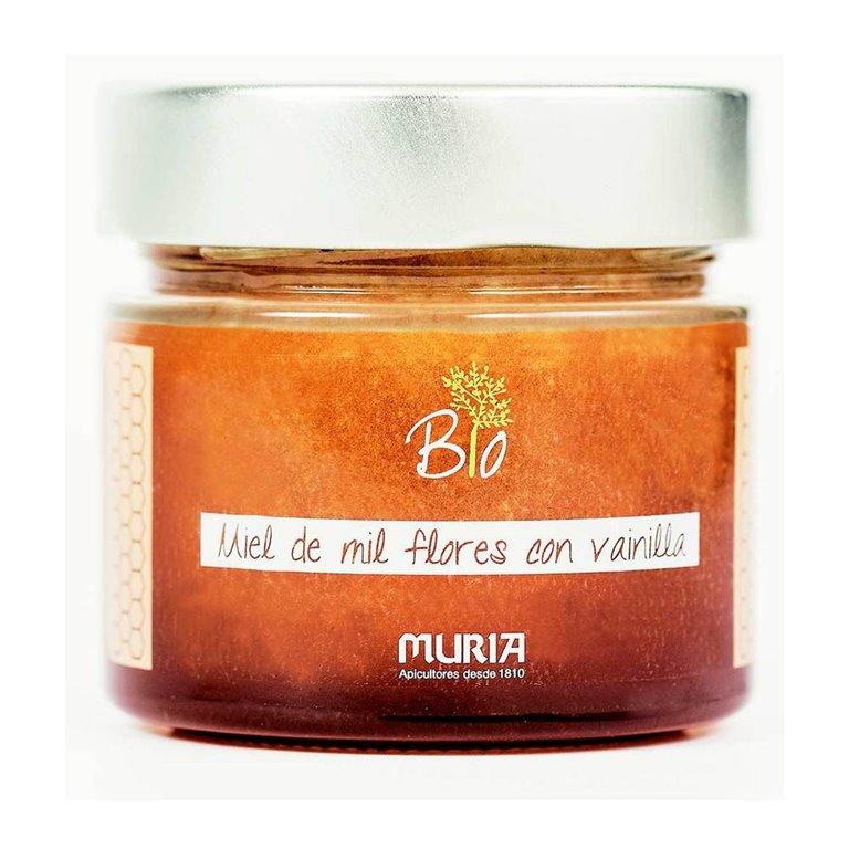 Miel de Mil Flores con Vainilla Bio 250g