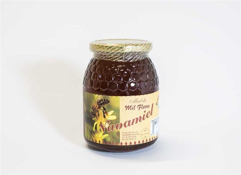 Miel de Milflores Pura de Abeja 1kg