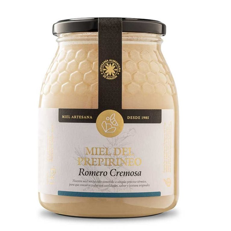 Miel de Romero del Prepirineo 1Kg