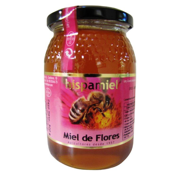 Miel de Sierra (Flores) 500 gr