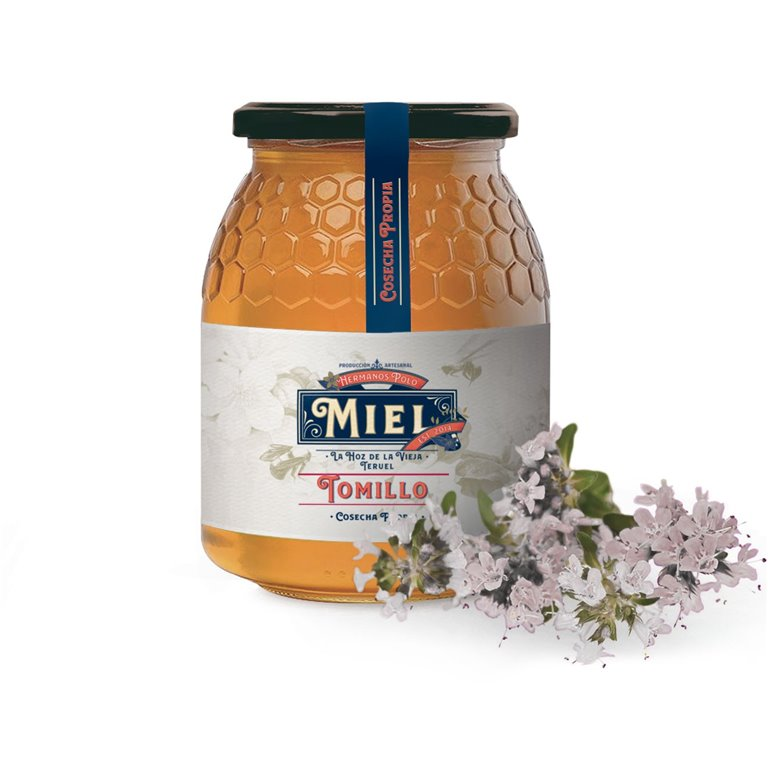 Miel de Tomillo Hnos. Polo