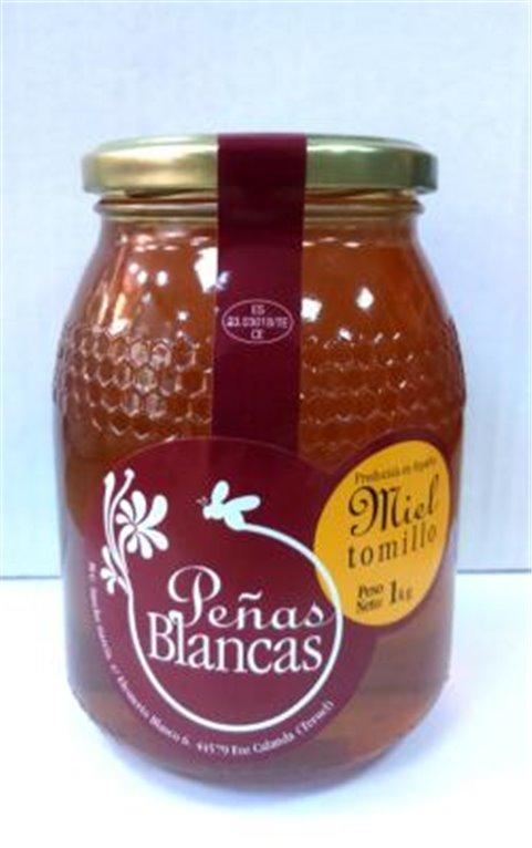 Miel de tomillo Peñas Blancas 1Kg, 1 ud