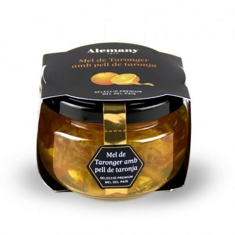 Miel  gourmet de Naranjo con piel de naranja