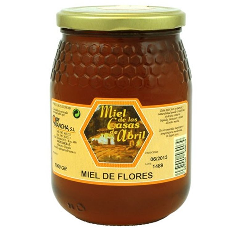 Miel Mil Flores Casas de Abril 1 kg