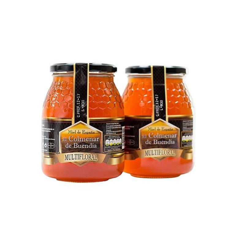 Miel multifloral (500 ml) - El Colmenar de Buendia, 1 ud