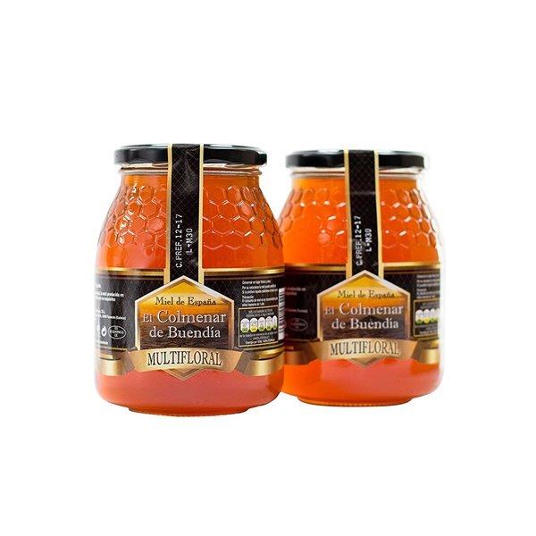 Miel multifloral (500 ml) - El Colmenar de Buendia