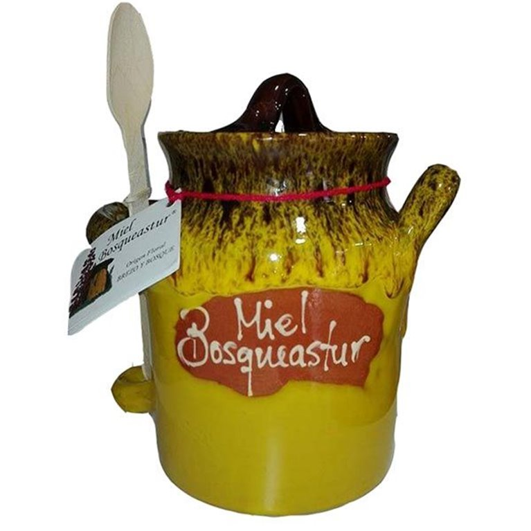 Miel Natural De Brezo Bidón Amarillo