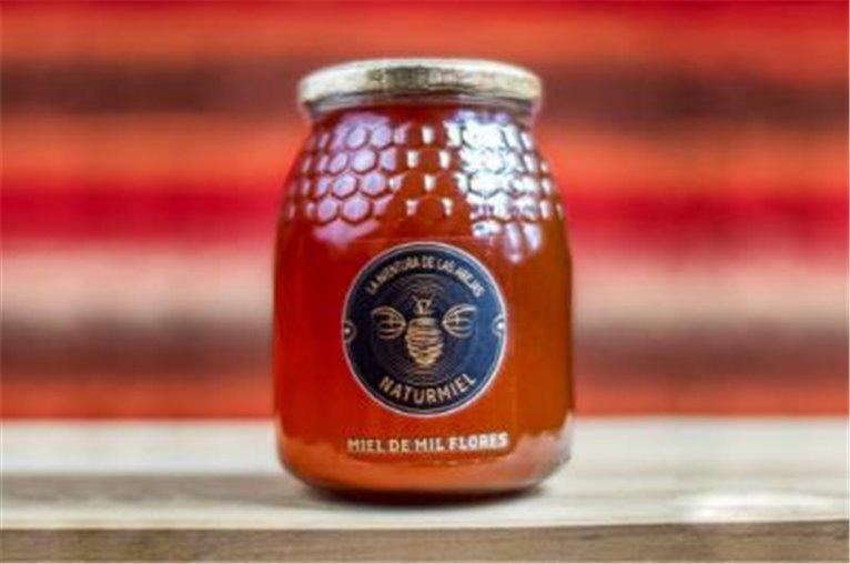 Miel pura de mil flores (tarro de 500gr)