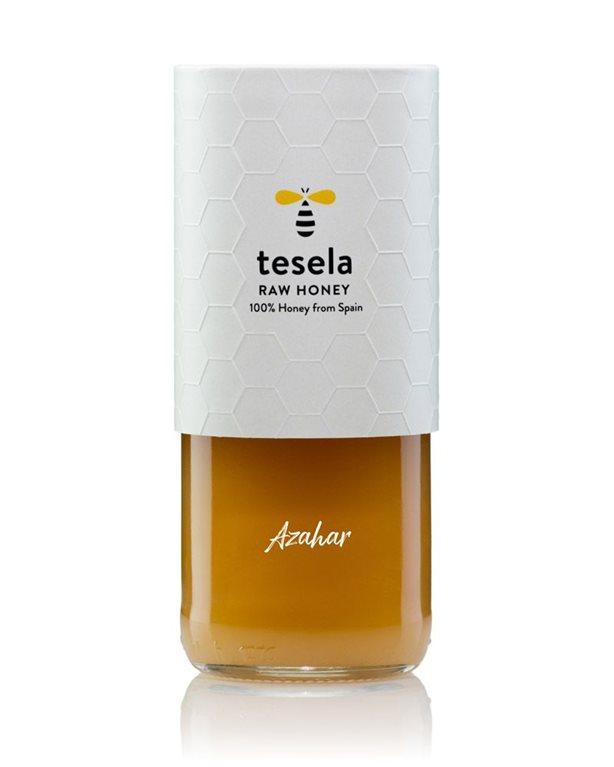 Pure natural gourmet honey 320 gr Orange Blossom Tesela
