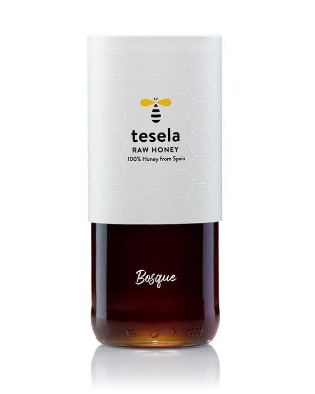 Pure natural honey gourmet 320 gr Bosque Tesela