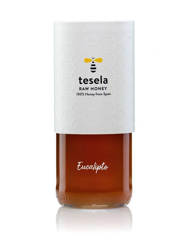 Pure natural gourmet honey gourmet 320 gr Eucalyptus Tesela