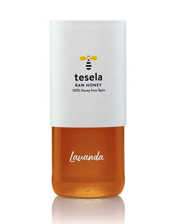 Pure natural gourmet honey 320 gr Lavender Tesela