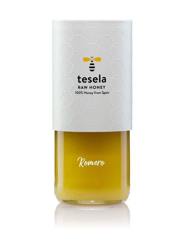 Pure natural gourmet honey 320 gr Rosemary Tesela