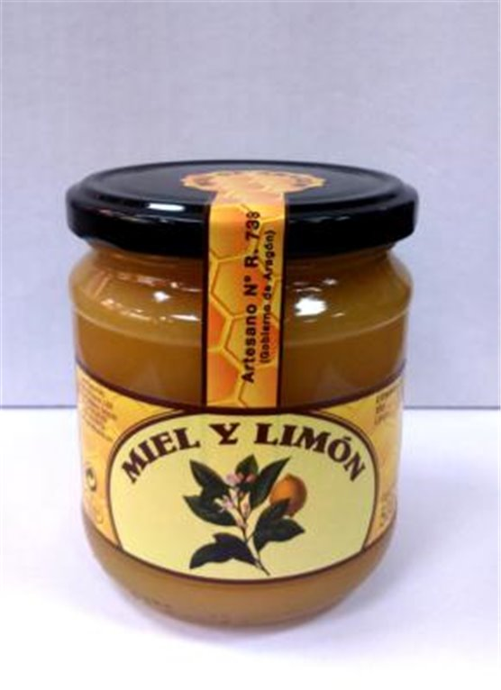 Miel y limón Miel del Prepirineo 500gr, 1 ud