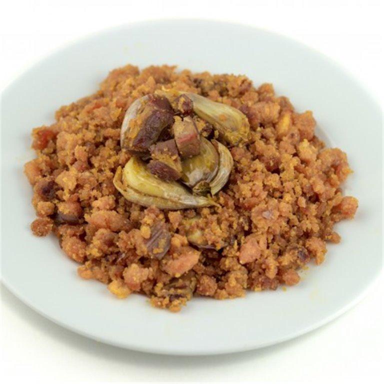 Migas con chorizo sin gluten, 1 ud