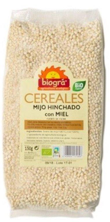 Mijo Hinchado con Miel Bio 150g