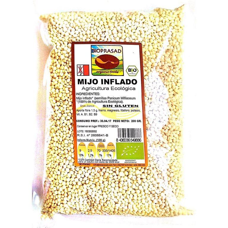 Mijo Inflado Bio 200g, 1 ud