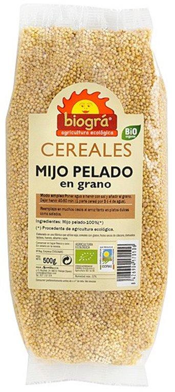 Mijo Pelado en Grano Bio 500g, 1 ud