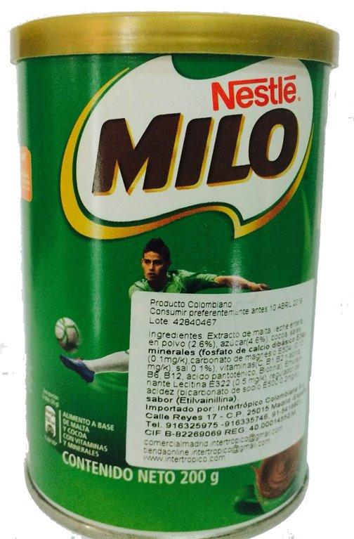 MILO COLOMBIANO X 200 GR
