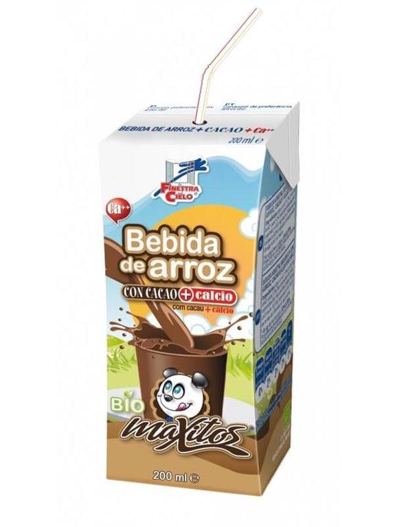 Mini bebida arroz cacao con calcio, 1 ud