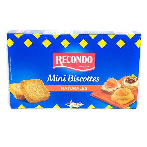 Mini Biscottes naturales (120 gr)