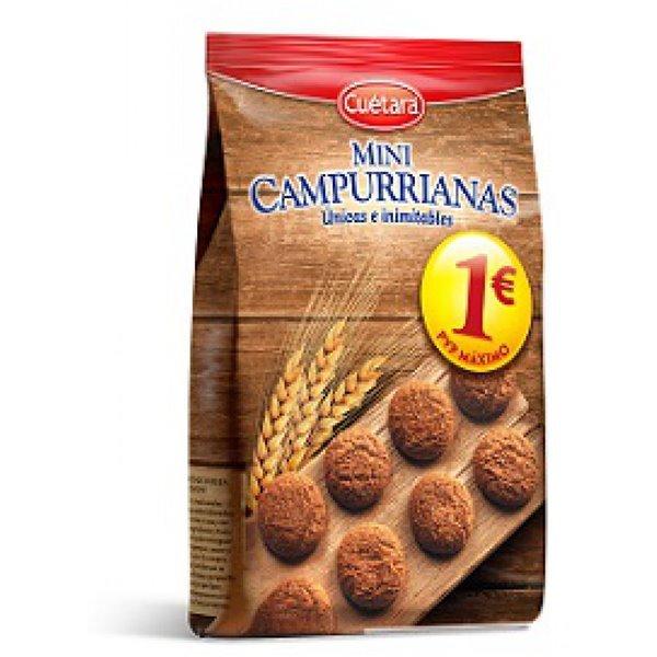 Mini Campurrianas (fuente de fibra, 300 gr)
