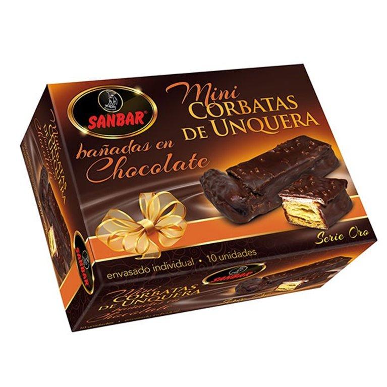 Mini Corbatas Unquera De Chocolate