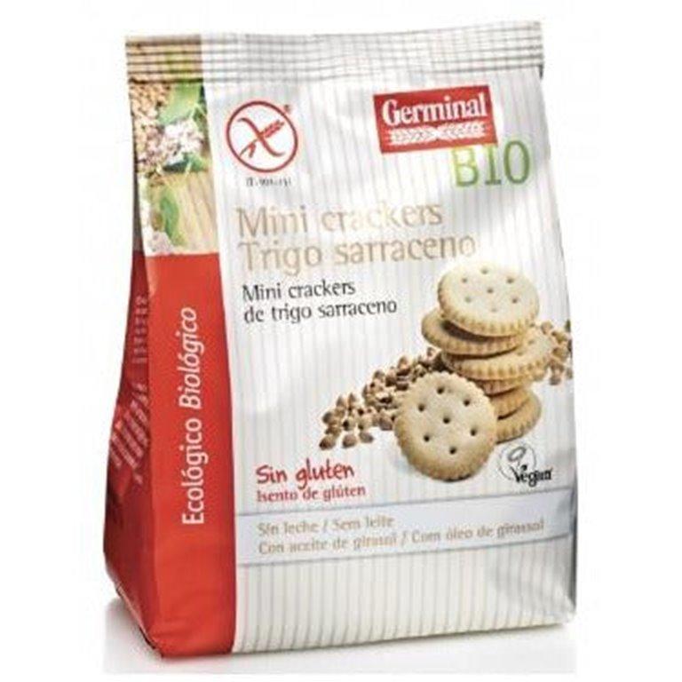 Mini Crackers de Trigo Sarraceno Sin Gluten Bio 100g