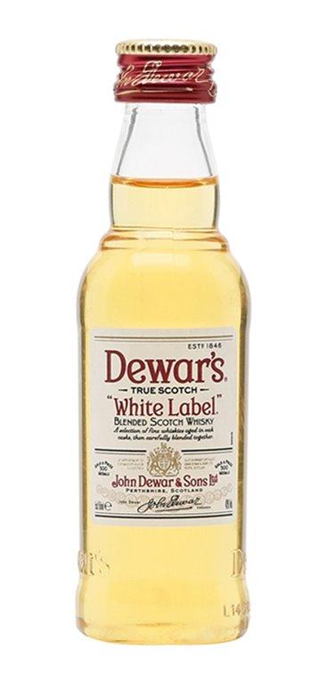 Miniatura Whisky White Label (192u)