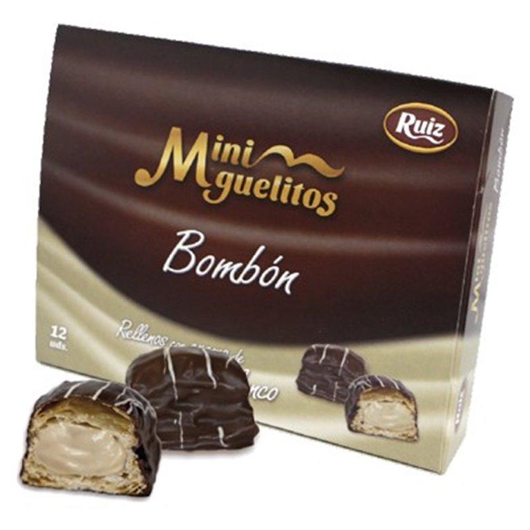 Miniguelitos Bombón Blanco 12 unidades