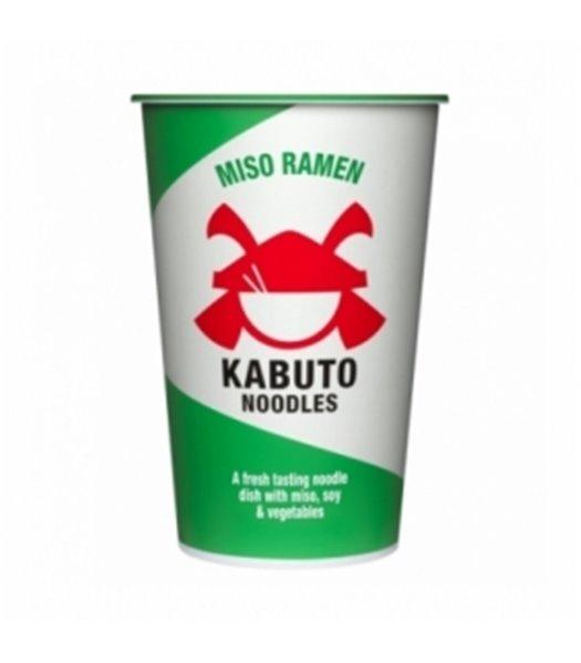 Miso Ramen 85gr. Kabuto Noodles. 6un.