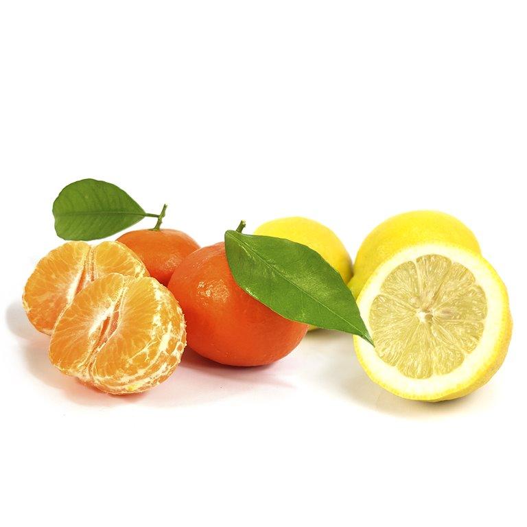 Mix 3 kg de mandarinas Clamenvilla y 2 kg de limones (caja de 15 kg)