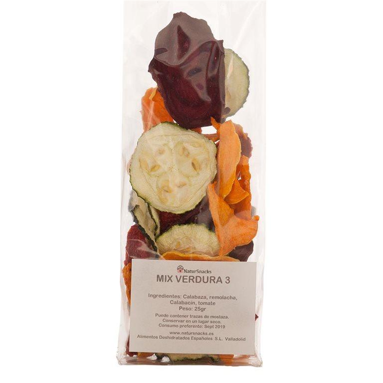 Mix 3 Verduras: Calabaza, Remolacha y Calabacín