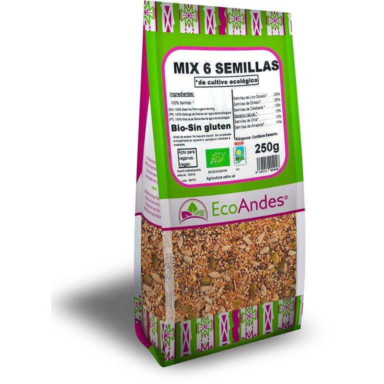 Mix 6 Semillas Bio 250g, 1 ud