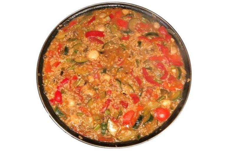 Mix Arroz de Verduras