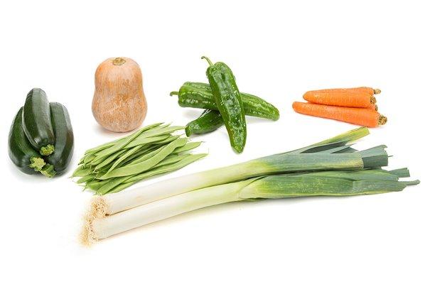 Mix básicos verdura