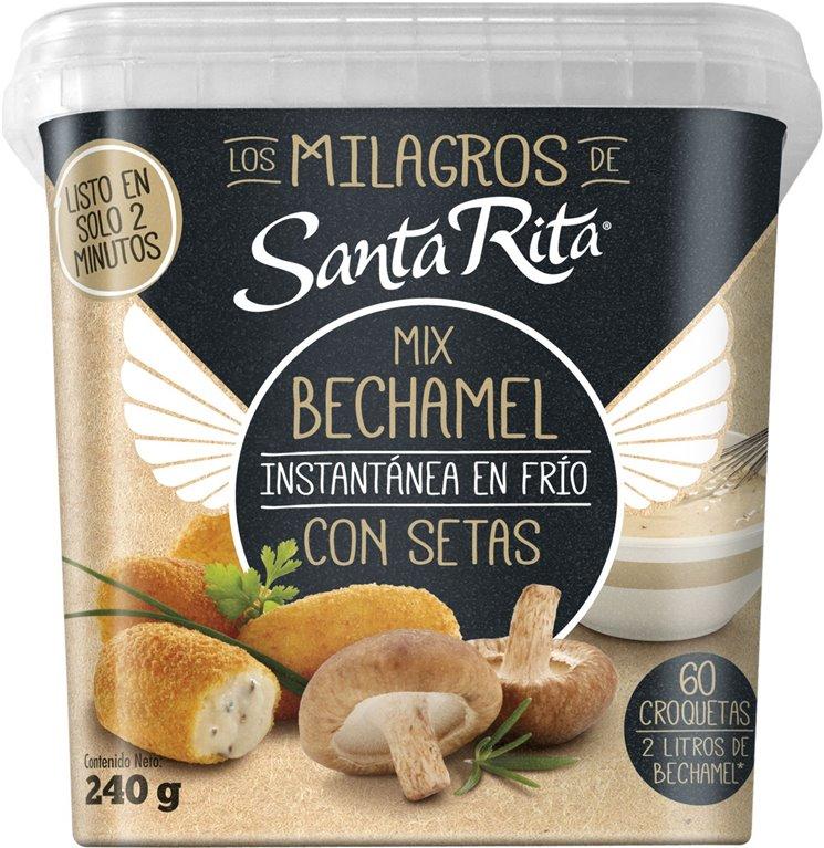 Mix Bechamel para Croquetas con Setas SANTA RITA 240 G