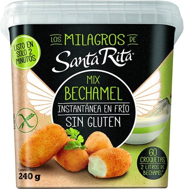 Mix Bechamel para Croquetas Sin Gluten 240 G SANTA RITA
