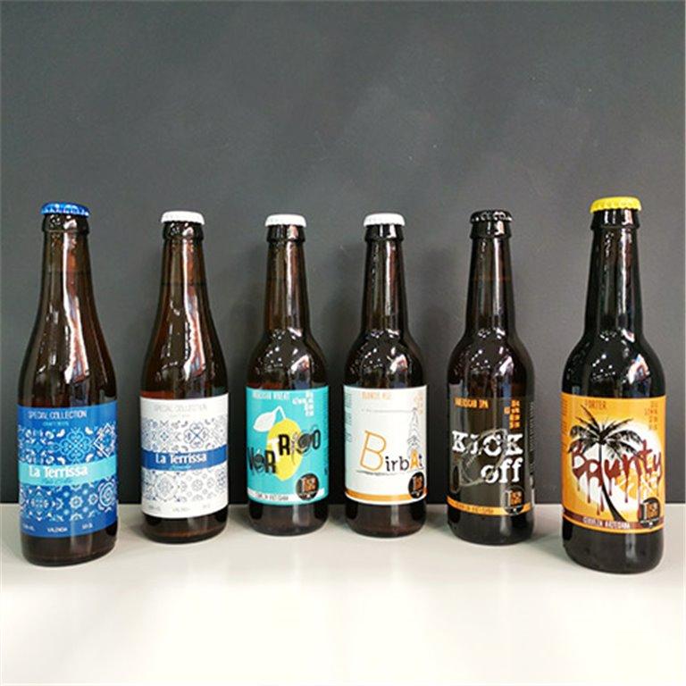 Mix de cervezas artesanas valencianas Tercer Tiempo