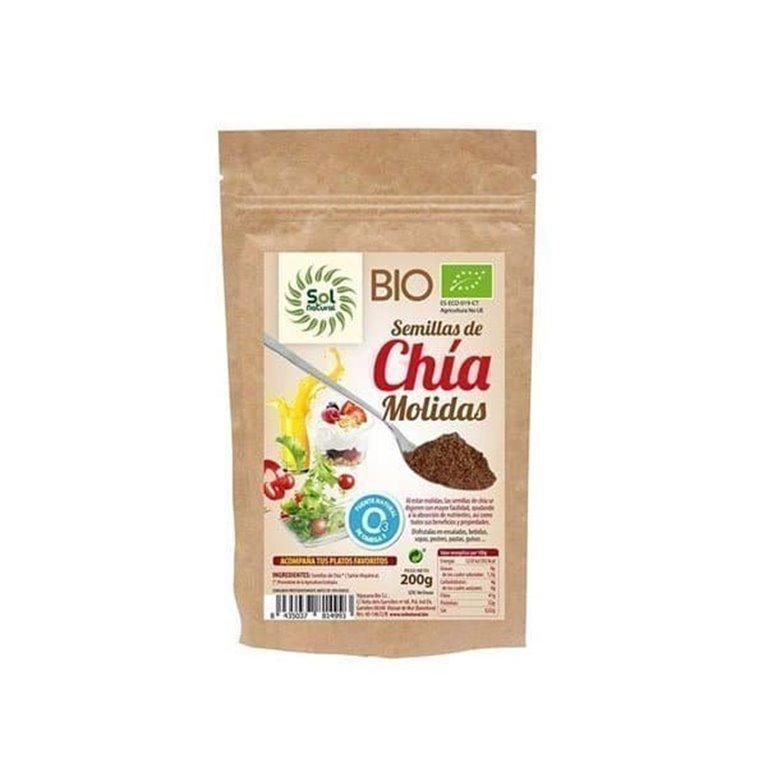 Organic Chia Mix Organic Solnatural 200g