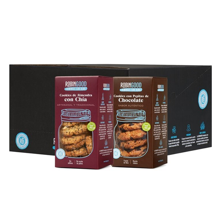Cookies Mix (Boxes of 12 units)