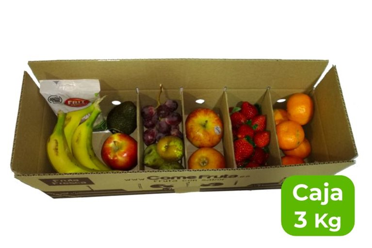 Caja degustacion fruta de temporada