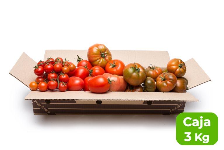 Seasonal tomato tasting mix