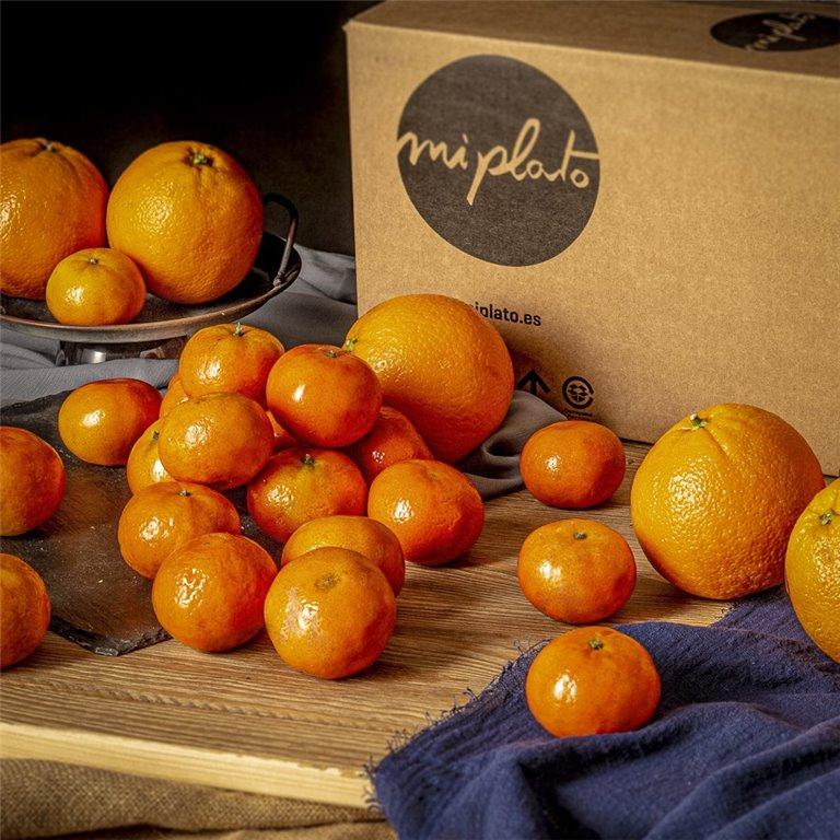 Mix Naranjas y mandarinas - 4 kg.