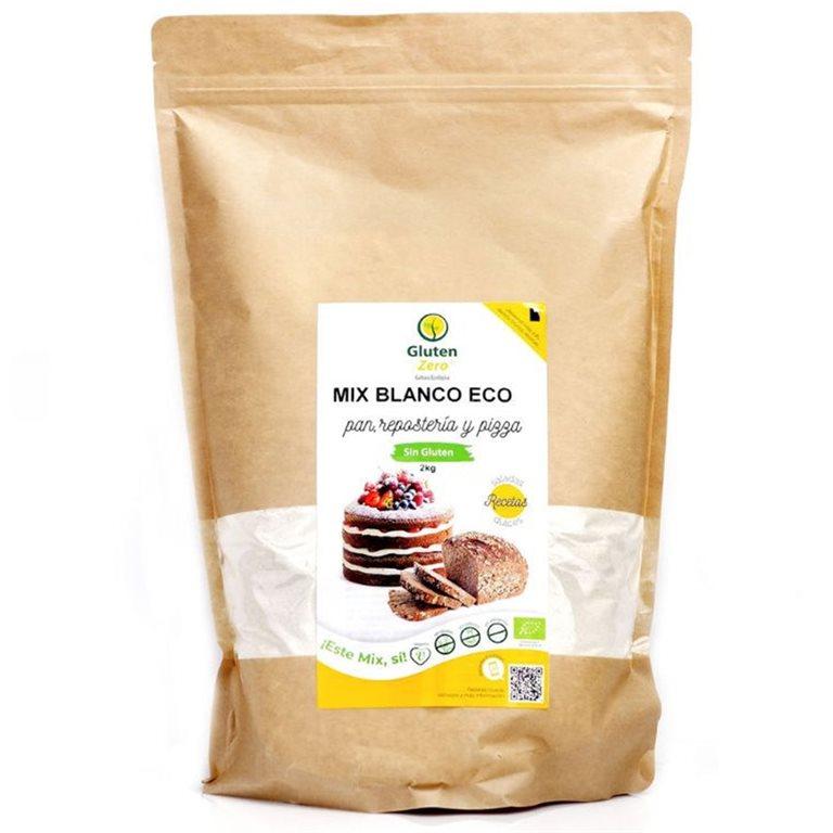 Mix para Pan Blanco Sin Gluten Bio 500g, 1 ud
