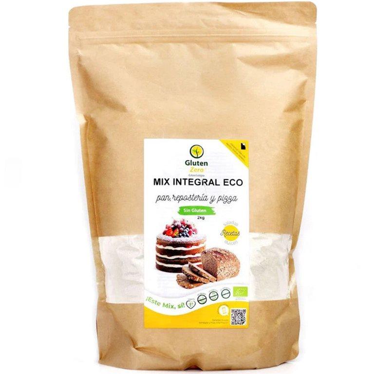 Mix para Pan Integral Sin Gluten Bio 500g, 1 ud