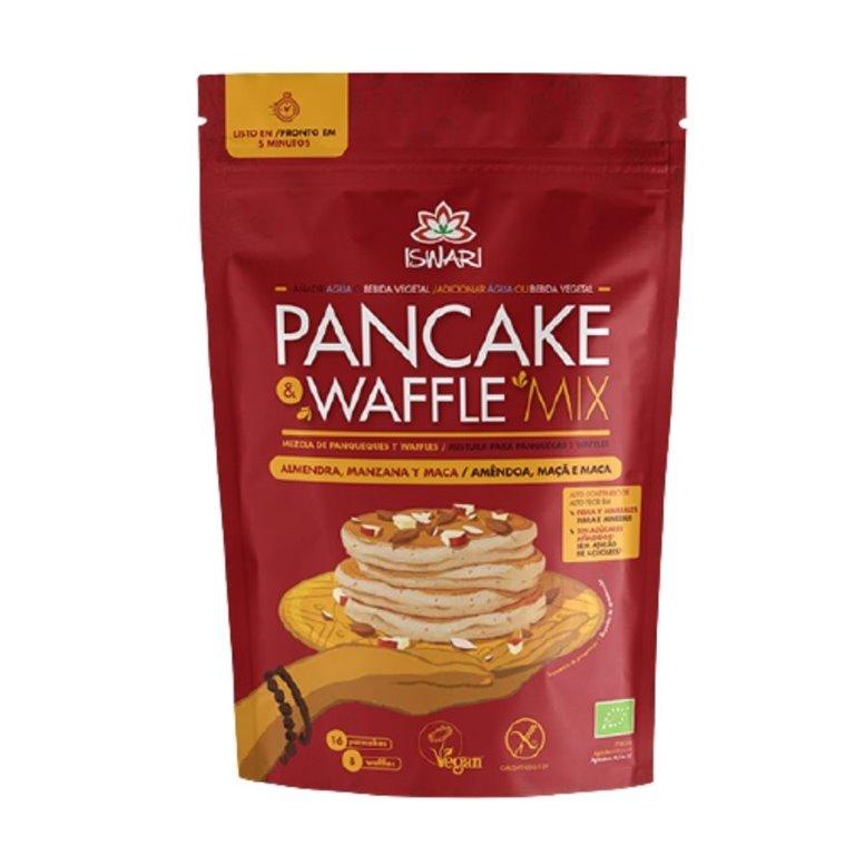 Pancake & Waffle Mix with Almond and Apple Gluten Free Organic 400g