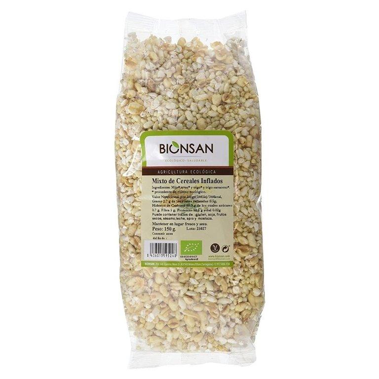 Mixto de cereales inflados ecológicos -150gr