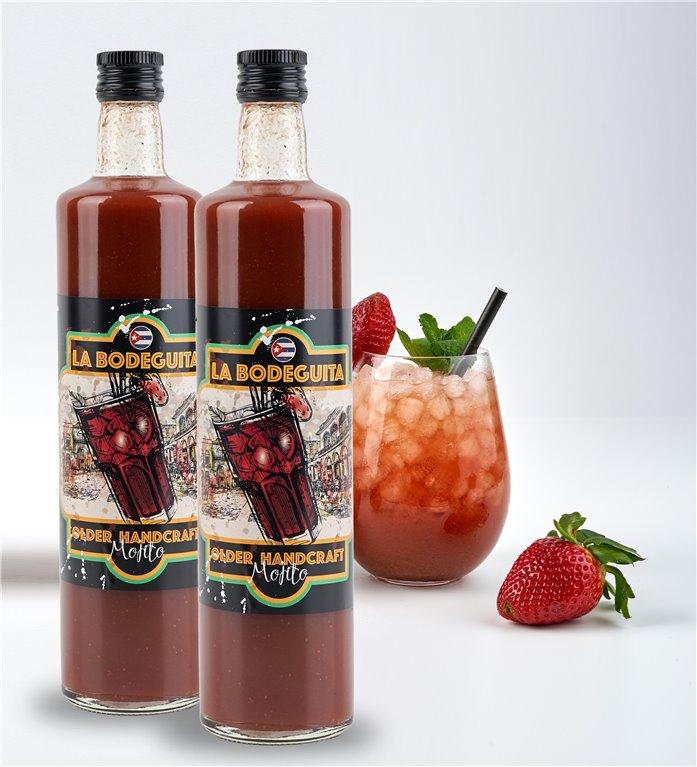 Mojito de fresa (pack de 2 botellas de 75cl)